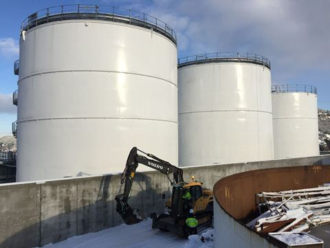 Statoil coats tanks containing jet fuel A1 with Humidur®