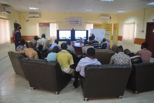 Humidur trainees in Nigeria