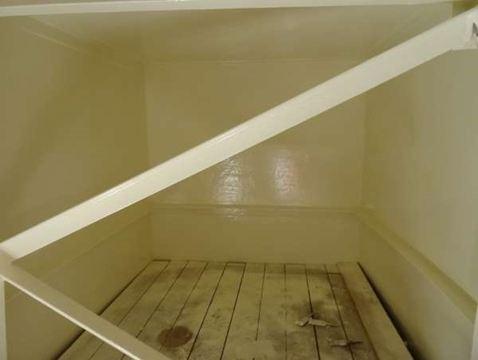 Potable water tank refurbishment
