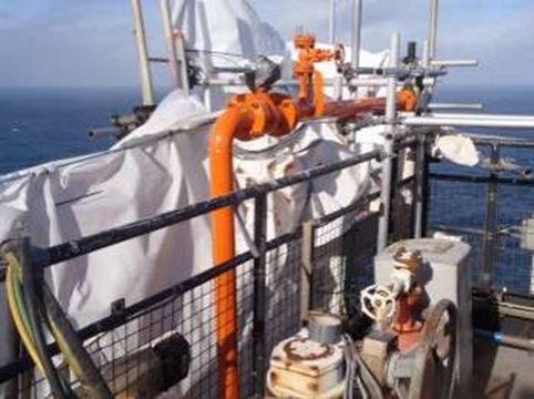 Humidur® as repair system on Shell Brent Charlie platform