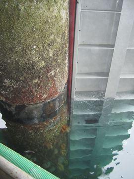 Acotec's customized cofferdam to access tubular piles