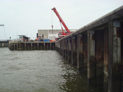 Acotec will rehabilitate the 'Paleiskade' at the Port of Den Helder