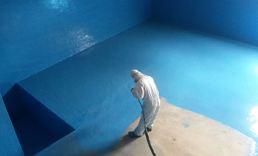 Concrete overflow tanks - Backus SABMiller Peru