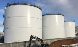 Humidur applied in tanks of the Dolvik Depot - Statoil