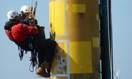 Coating repairs on Thanet Offshore Windfarm