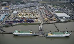 Acotec will perform conservation works at the C.RO Ports (Cobelfret) Purfleet terminal