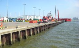 Acotec will rehabilitate the 'Paleiskade' at the Port of Den Helder