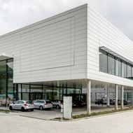 25/09/2014<br />A brand new building of 30 000 m² on the Leuvensesteenweg!
