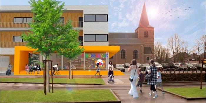 Gemeentehuis - Solidariteitsplein Stevoort