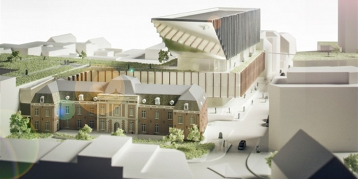 Nieuw Stadhuis - Oude Rijkswachtkazerne