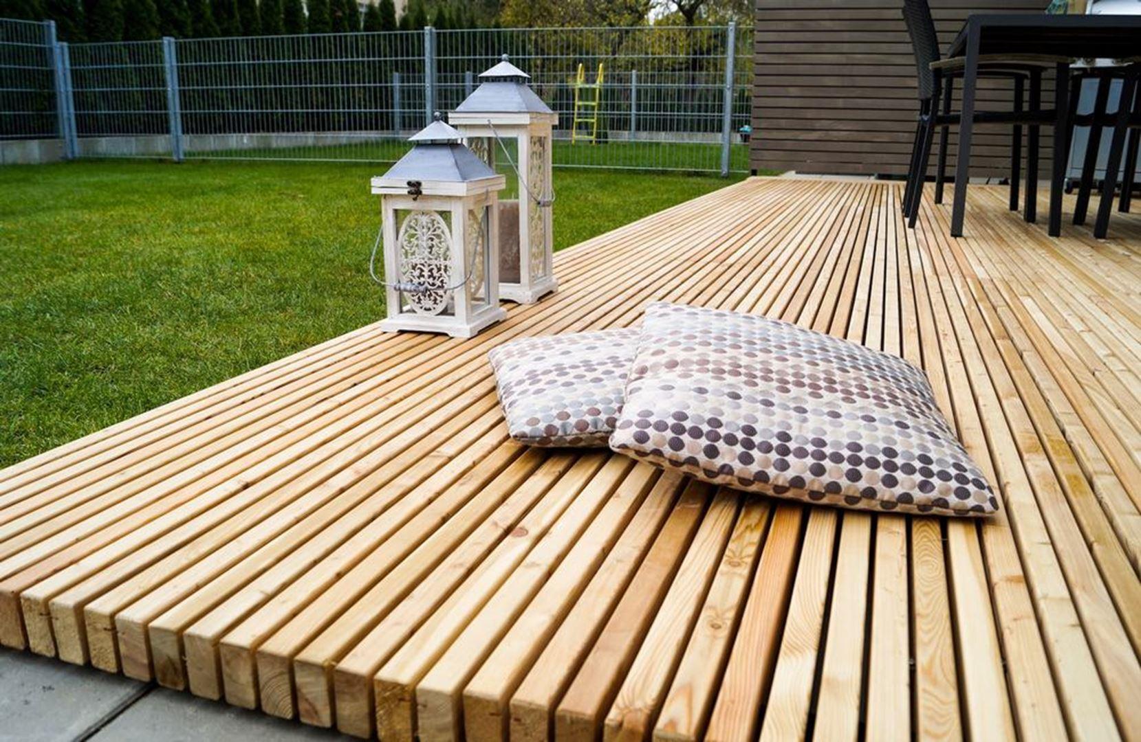 Beulen hout voor buiten terrassen - Buiten terrassen ...