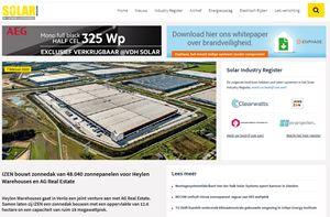IZEN bouwt zonnedak van 48.040 zonnepanelen voor Heylen Warehouses en AG Real Estate