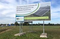 Een zonnige start van een duurzaam Twenterand.