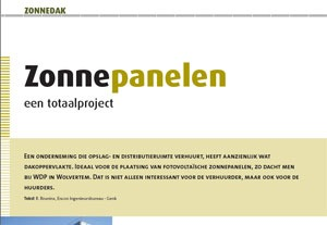 Ecotips: Zonnepanelen een totaalproject