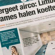 27/07/2019<br />Vergeet airco: Limburgse dames halen koelte uit plafond