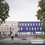 Police station VLAS Drie Hofsteden, Kortrijk