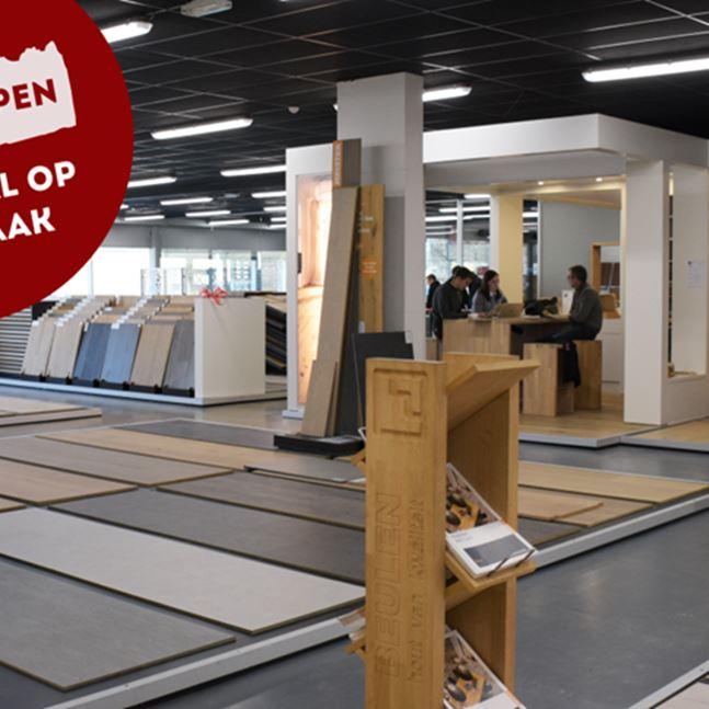 Winkel open, toonzaal op afspraak - Verlof van 12/04 t.e.m. 19/04