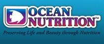 Logo Ocean Nutrition (slogan noir)