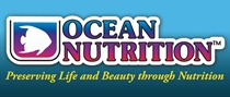 Logo Ocean Nutrition (with yellow slogan)