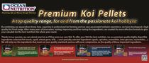 Advert Premium Koi Pellets