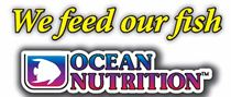 Autocollant 'We Feed Our Fish' Ocean Nutrition